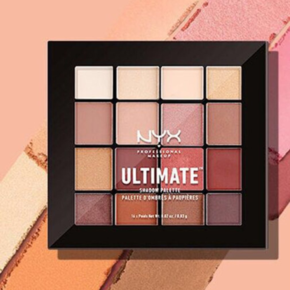 16 Colors Eyeshadow Palette Makeup Beauty Products Smooth Powder Matte pearlescent Waterproof Lasting No Blooming