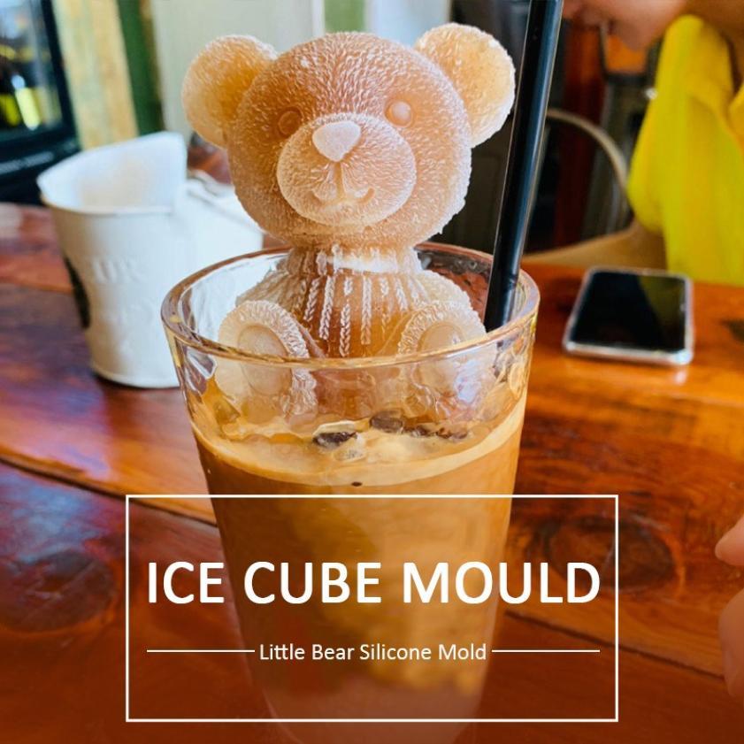 Silicone Bear Ice Cube Mold