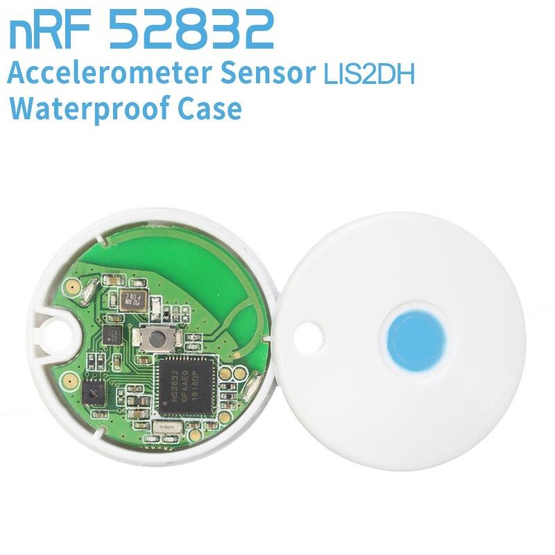 NRF51822 модуль Bluetooth беспроводной Маяк + датчик ускорения LIS2DH для базовая станция iBeacon с Чехол