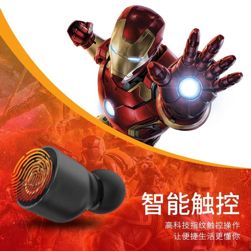 Disney genuine wireless Bluetooth headset touch in ear Bluetooth 5.0 mobile phone universal version enlarge