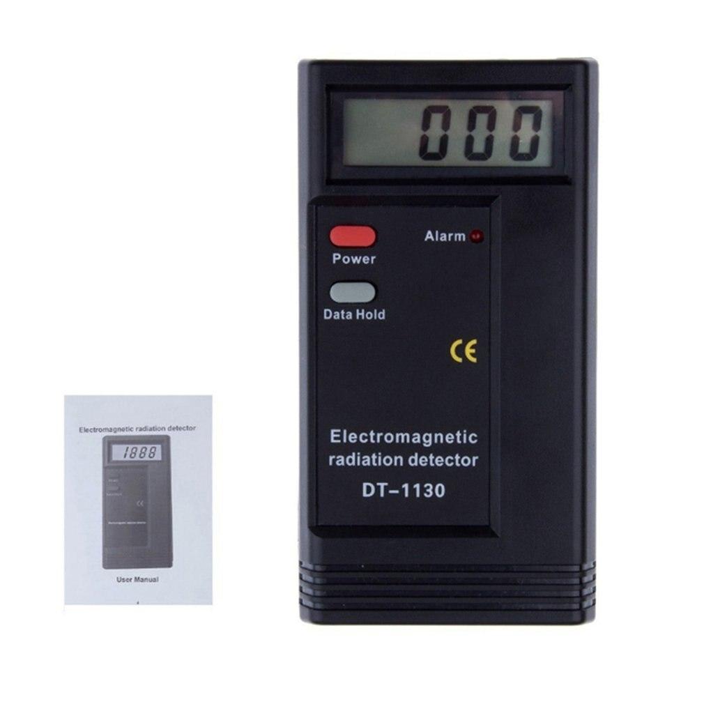 Detector de radiación electromagnética Digital LCD profesional EMF medidor dosímetro probador herramienta de medición de radiación