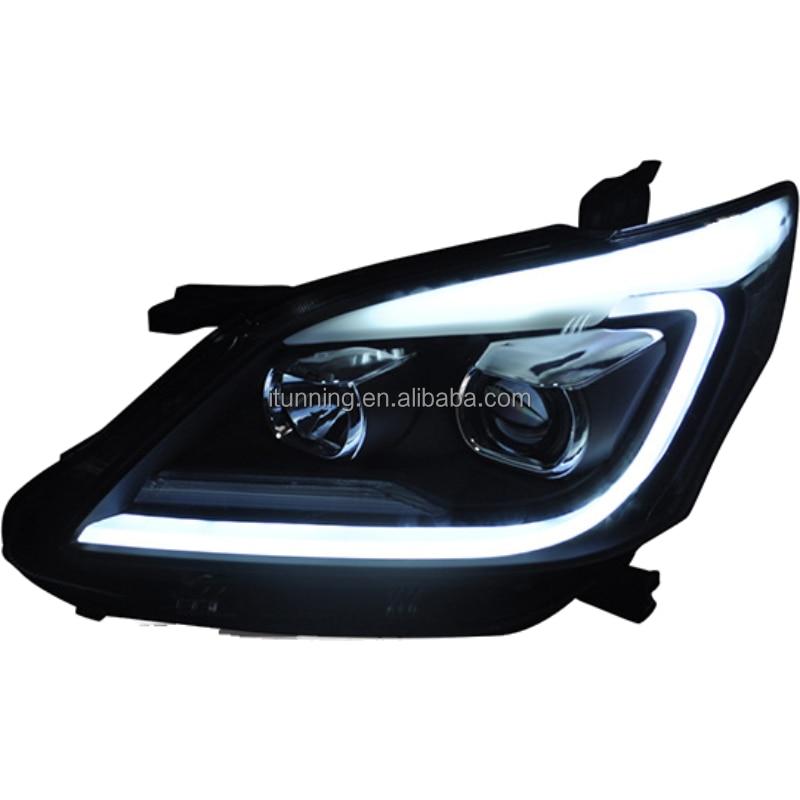 upgrade facelift led car headlamp headlight for toyota Innova 2012-2015 head lamp light enlarge
