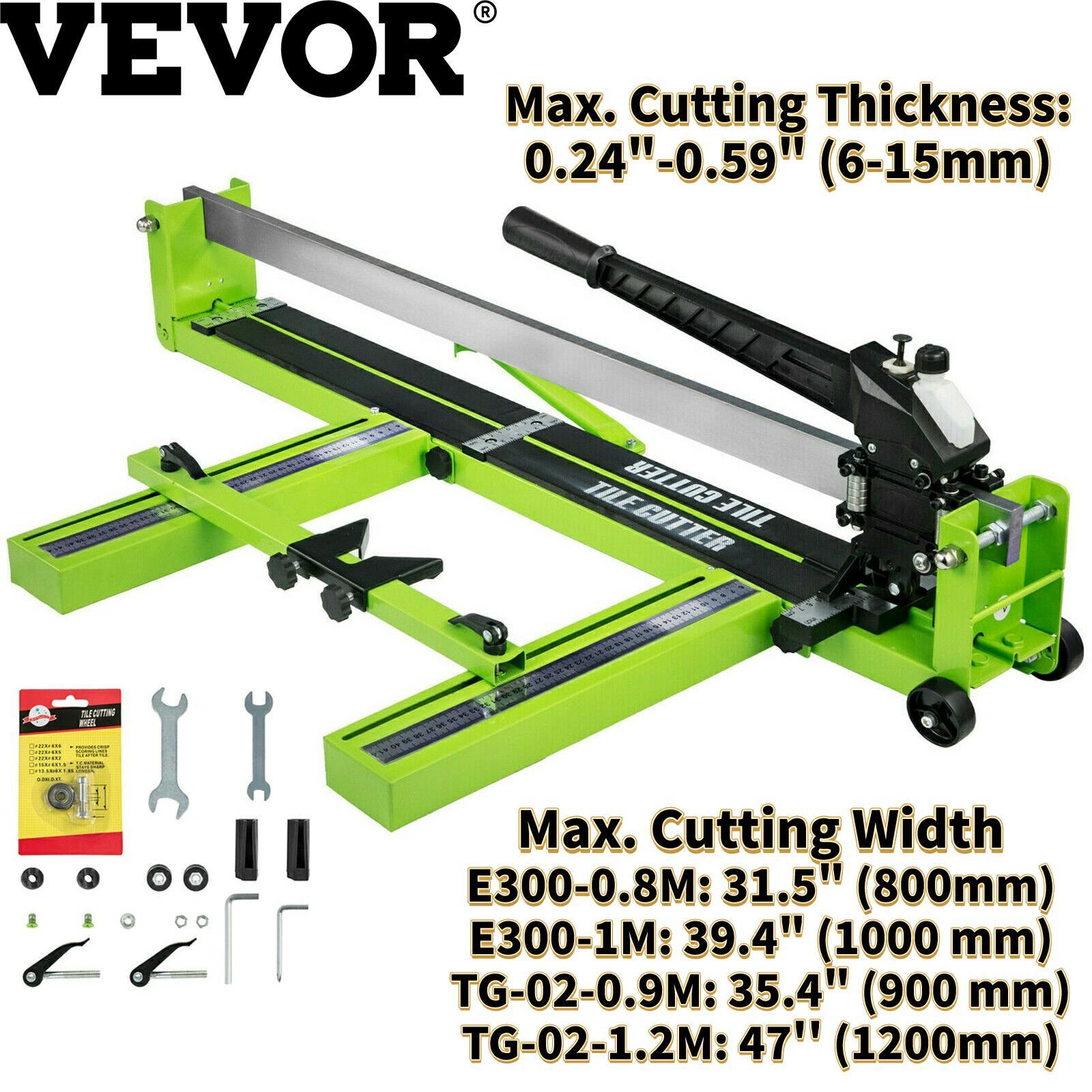 VEVOR Manual Tile Cutter Laser Positioning 31.5