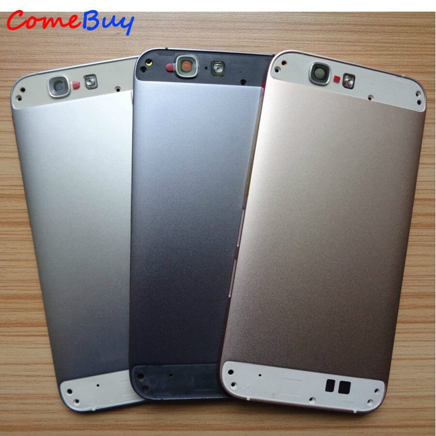 Funda de batería para Huawei G7, carcasa trasera, funda de puerta trasera para Huawei Ascend G7, funda de batería + botón de volumen de encendido + cubierta superior inferior
