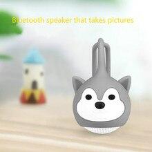 Draagbare Bluetooth Speakers Kleine Smart Baby Draadloze Hifi 3D Stereoscopische Surround Tf Card Tws Serie Bass Box