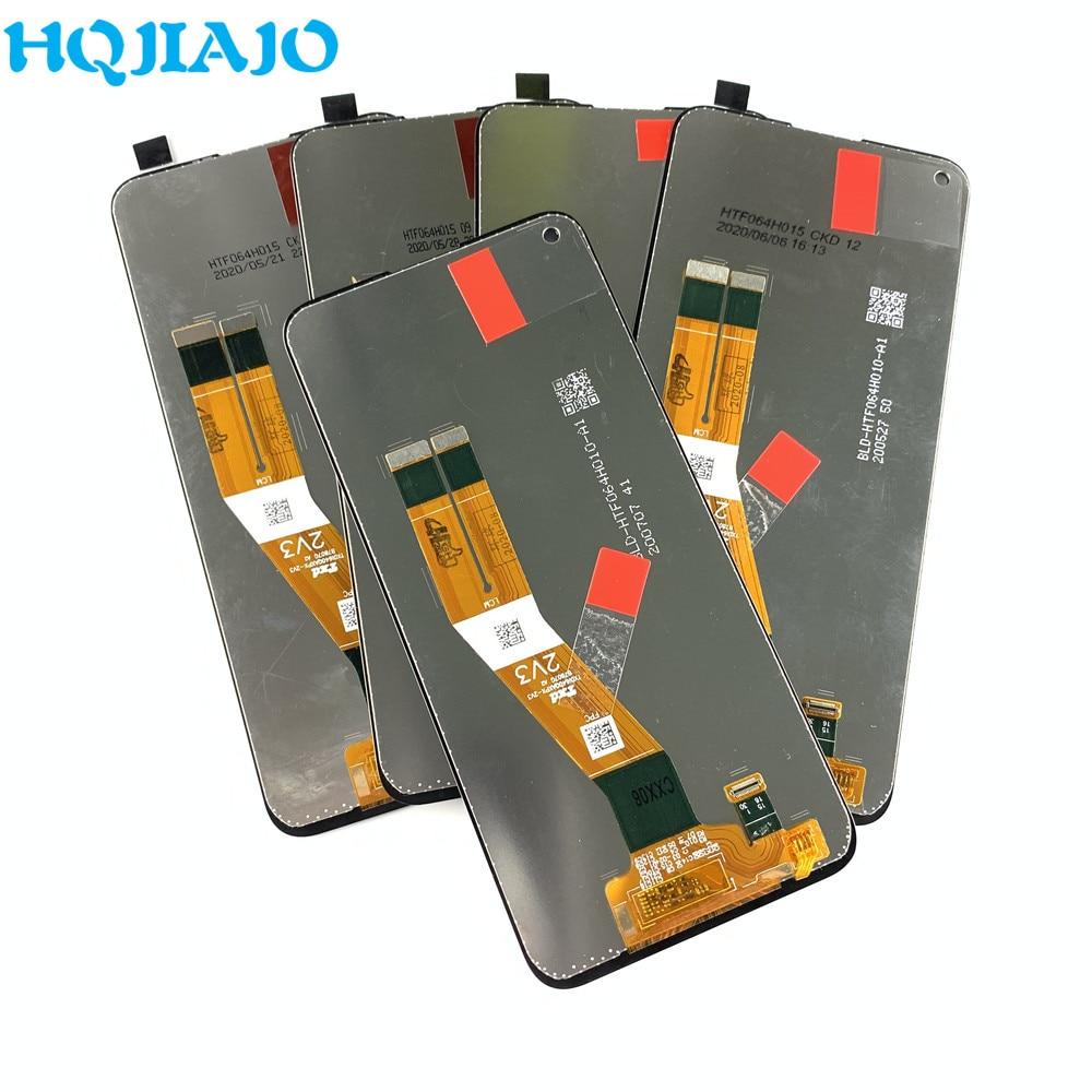 5 قطعة الأصلي لسامسونج A11 A115F A115F/DS LCD عرض تعمل باللمس الجمعية لسامسونج A11 LCD