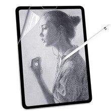 Película protectora de pantalla, papel mate, para escribir en iPad 9,7, Air 2, 3, 4, 10,5, 10,9, 2020 Pro, 11, 10,2, 7ª y 8ª generación