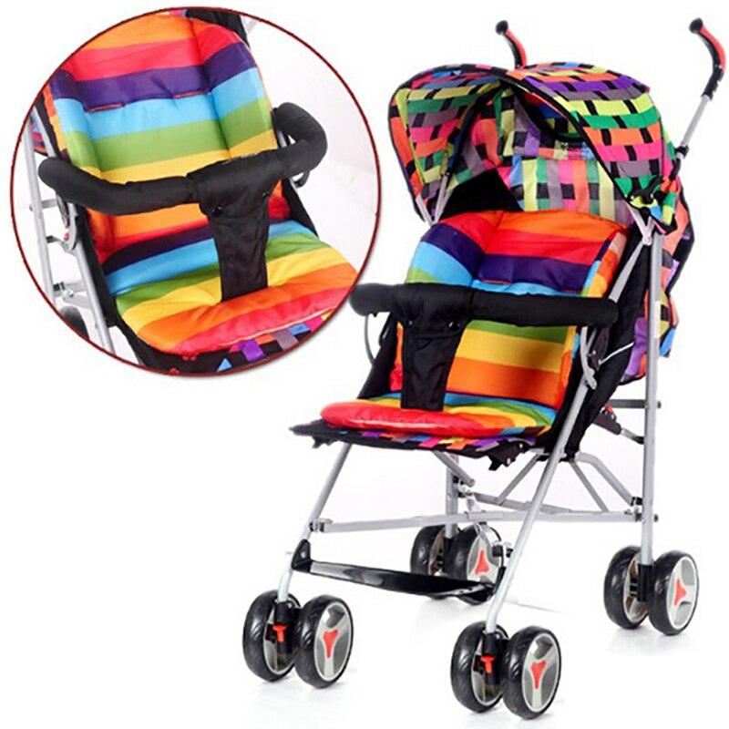 Подушечка Для сиденья детской коляски мягкие матрасы, коляска для высоких стульев, коврик для сиденья автомобильной каретки вечерние чный ...