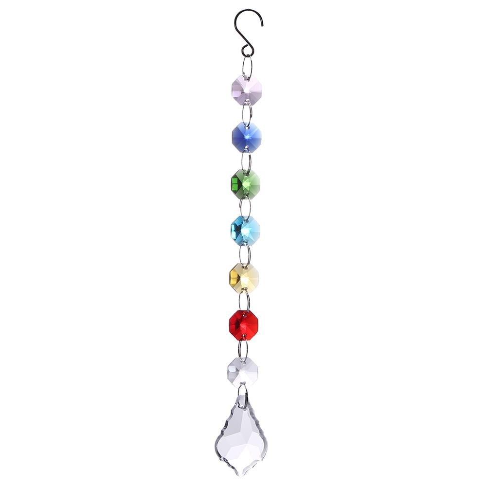 DIY kryształowe Suncatchers kryształy do żyrandola pryzmat w kształcie kulki wisiorek twórca tęczy wiszące czakry kaskada Suncatcher dla drop shipping