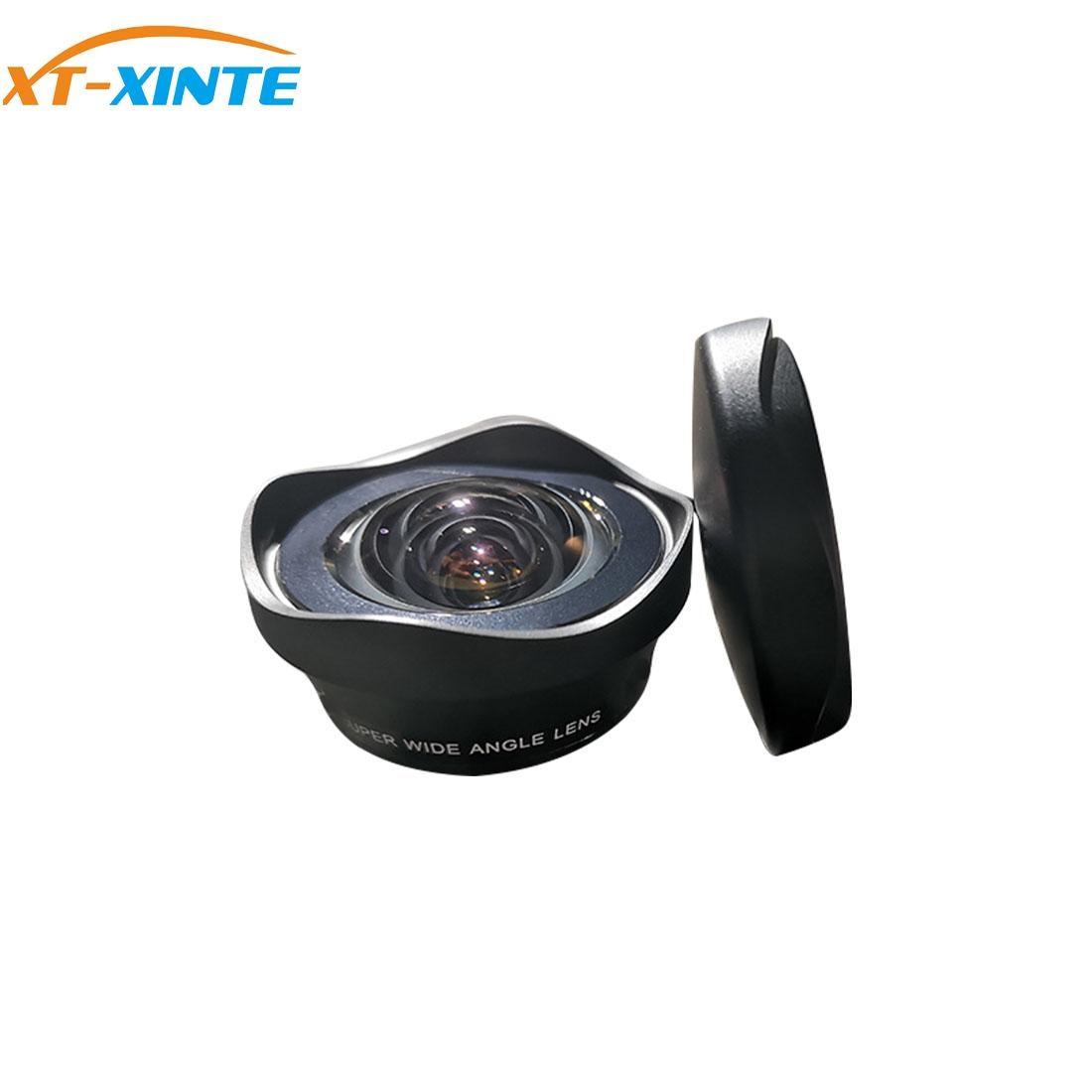 XT-XINTE الهاتف المحمول زاوية واسعة عدسة الخارجية 12 مللي متر شبه الكروي لا تشويه 120 درجة HD الهاتف المحمول التصوير الملحقات