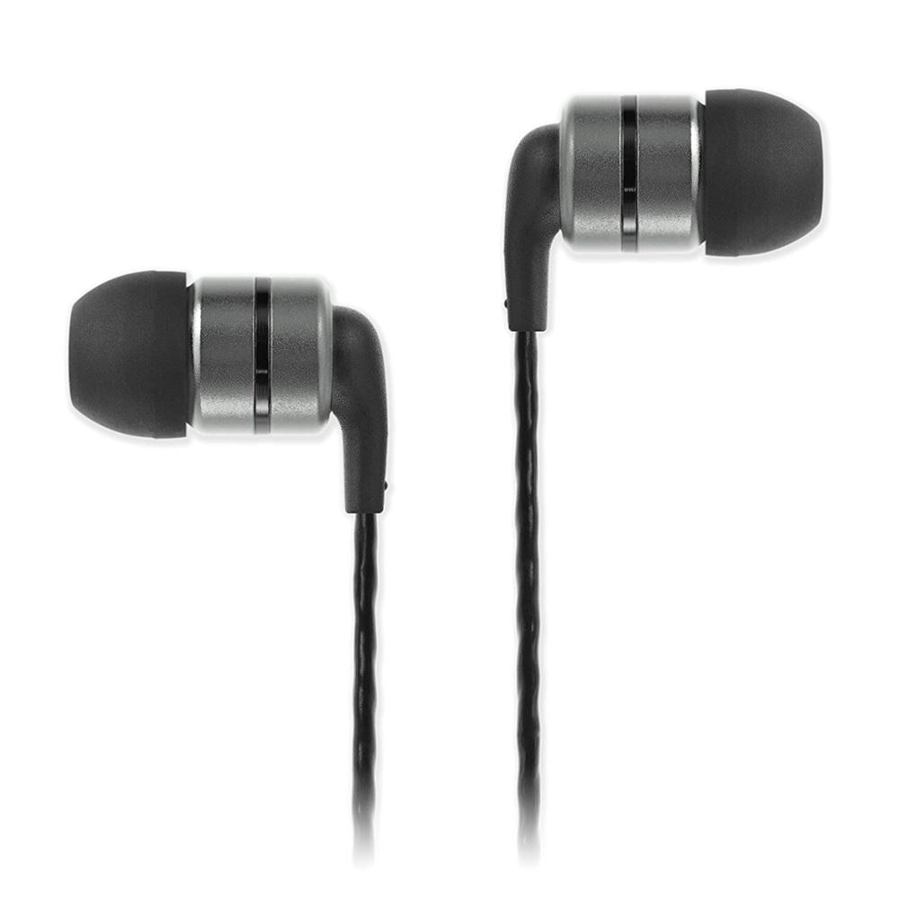 Auriculares intraurales SoundMAGIC E80 potentes Auriculares Aislantes HiFi con graves compatibles con Apple y Android