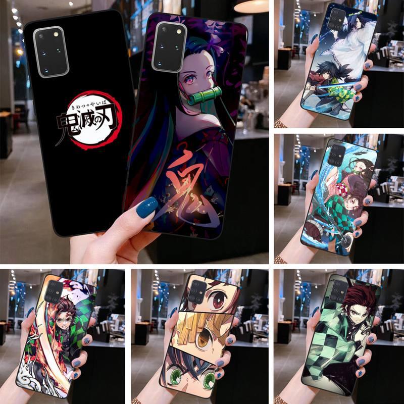 Kimetsu No Yaiba Phone Case for Samsung S20 plus Ultra S6 S7 edge S8 S9 plus S10 5G lite 2020