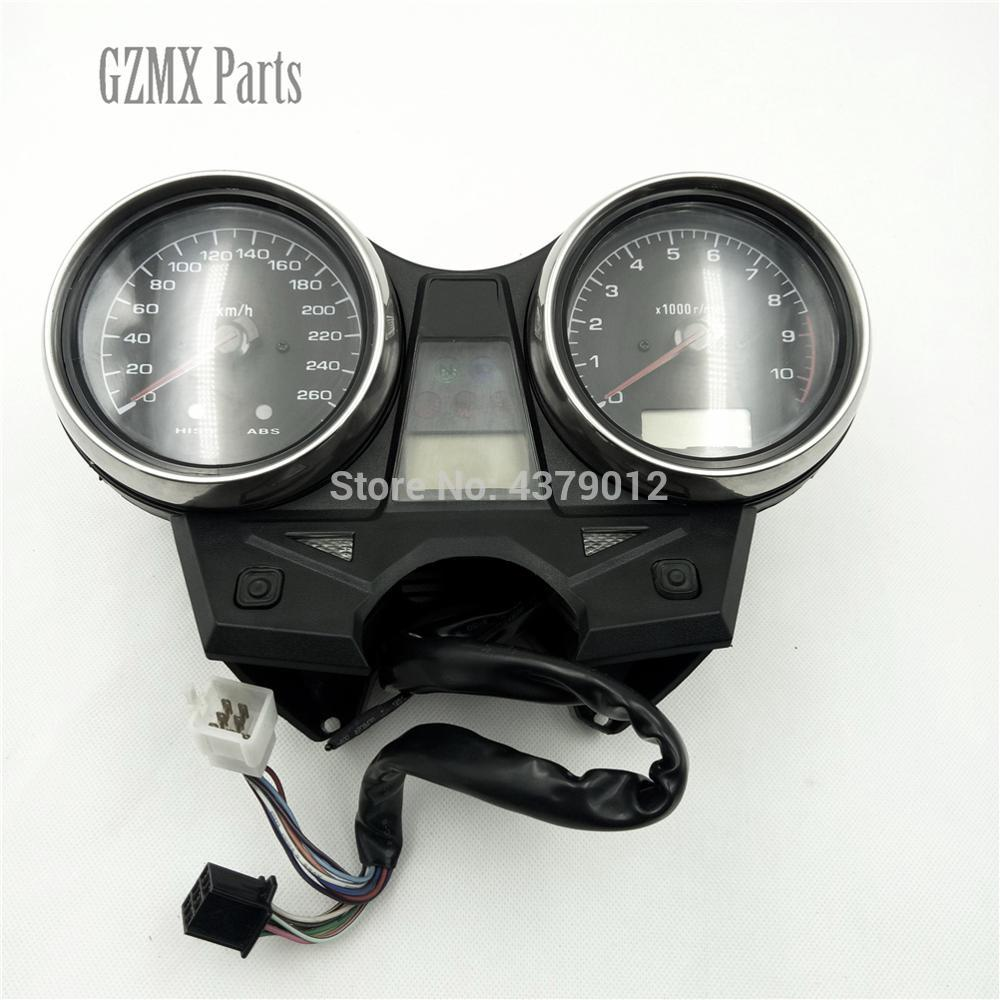 Para honda cb 1300 cb1300 2003-2008 motocicleta speedo velocímetro quilômetro odômetro calibre tacômetro intrument completo