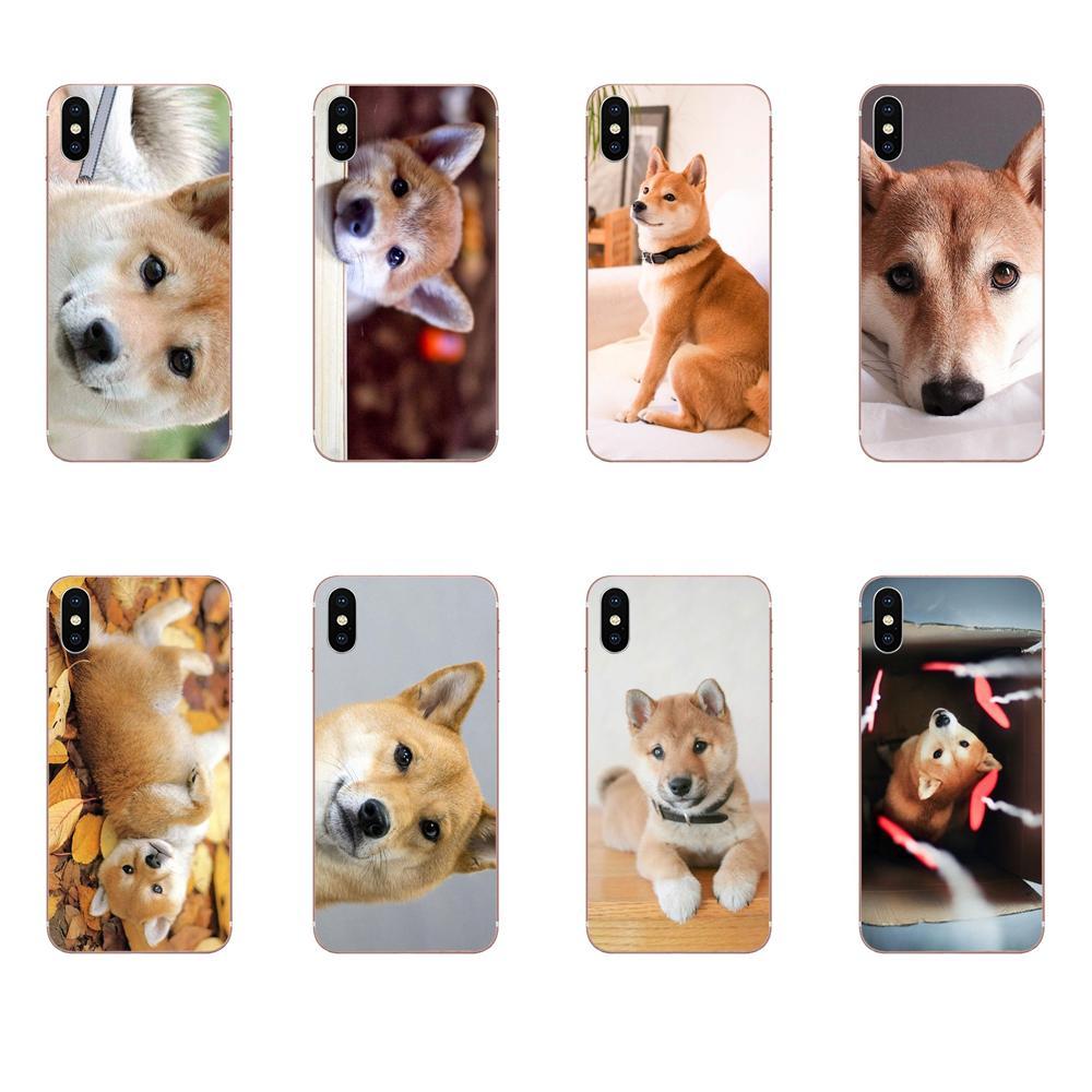 Leuke Japanse Baby Shiba Inu Hond Voor Iphone SE2020 11 Plus Pro X Xs Max Xr 8 7 6S se 4S 5 5C 5S Ontwerp Telefoon Case
