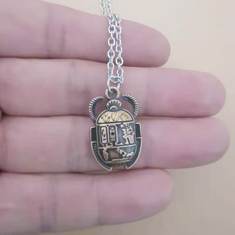 Египетское ожерелье, женские и мужские подвески, цепочка, массивные ювелирные изделия, Collares Colar naszyjnik Wicca Pagan, винтажные, новинка, хит