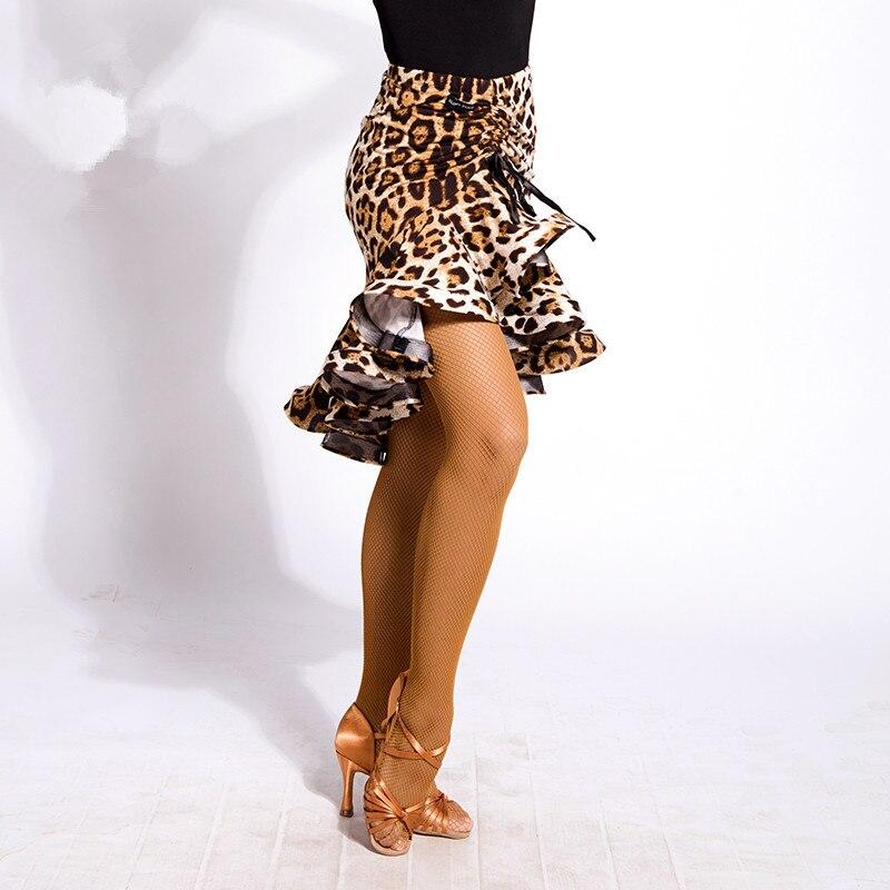 2020 New Latin Dance Skirt Women/Lady Competition Fishtail Dress Ballroom Cha Cha Salsa Rumba Dancing Dress For Dancer S/M/L/XL