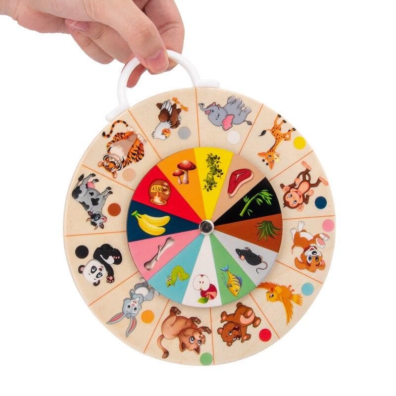 Материалы Монтессори Детские Двусторонние Обучающие разложения умножения Монтессори Обучающие деревянные игрушки для детей