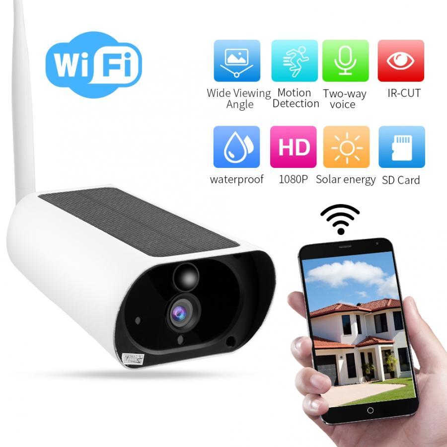 Camaras de seguridad 1080P HD 4X Zoom óptico inalámbrico WiFi energía Solar...