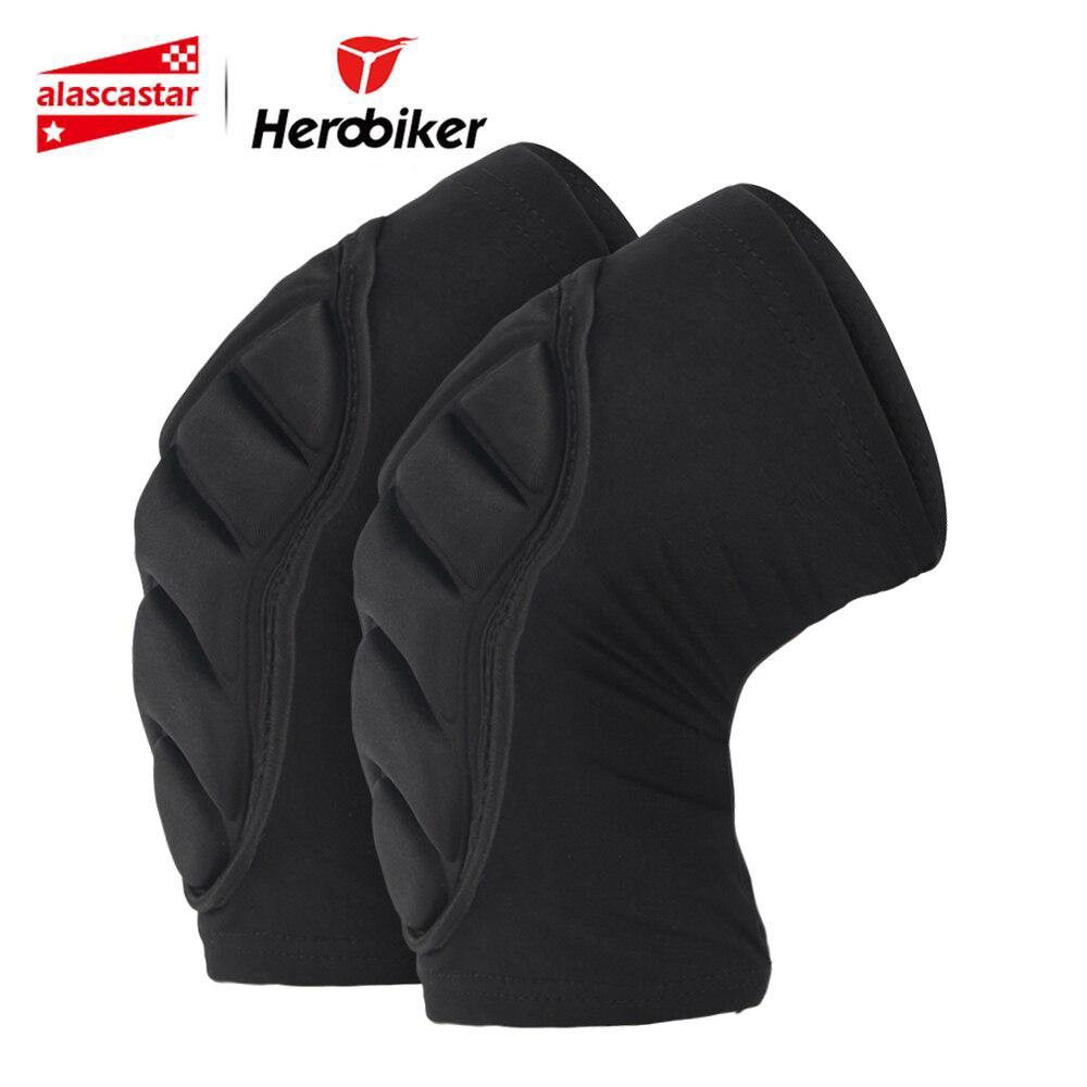Rodillera HEROBIKER, rodillera para motocicleta, protección de rodilla, Protector de rodilleras para ciclismo