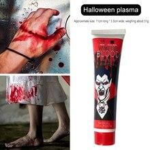 Juguetes de maquillaje de sangre falsa de 28ml, juguetes de sangre Artificial para niños, Halloween, vampiros, Cosplay DIY, juguetes de sangre