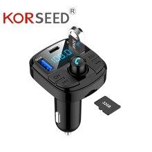 Voiture MP3 Bluetooth lecteur sans fil Bluetooth FM transmetteur USB Interface rapide Charge 3.0 chargeur de voiture