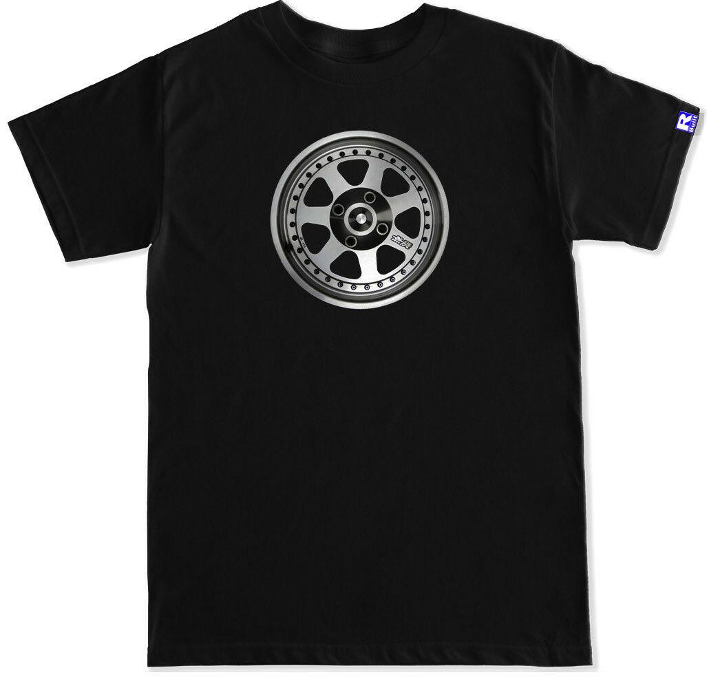 JDM MUGEN M7 ruedas llantas negro camiseta
