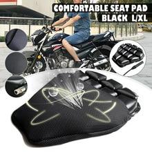 1 Juego de funda protectora para asiento de motocicleta, funda transpirable de verano de malla 3D para motocicleta, ciclomotor, fundas para asiento de Scooter, cojín