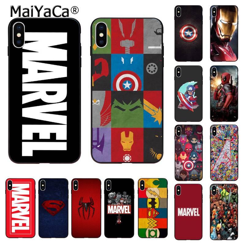 MaiYaCa Дэдпул Железный человек Marvel Мстители KingKong чехол для телефона iphone SE 2020 11 pro XS MAX 8 7 6 6S Plus X 5 5S SE XR