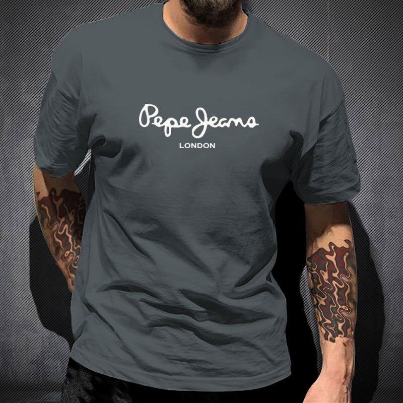 2021 летние футболки оверсайз, мужские/женские футболки высшего качества, модная повседневная футболка с коротким рукавом 2021, футболки в стил...