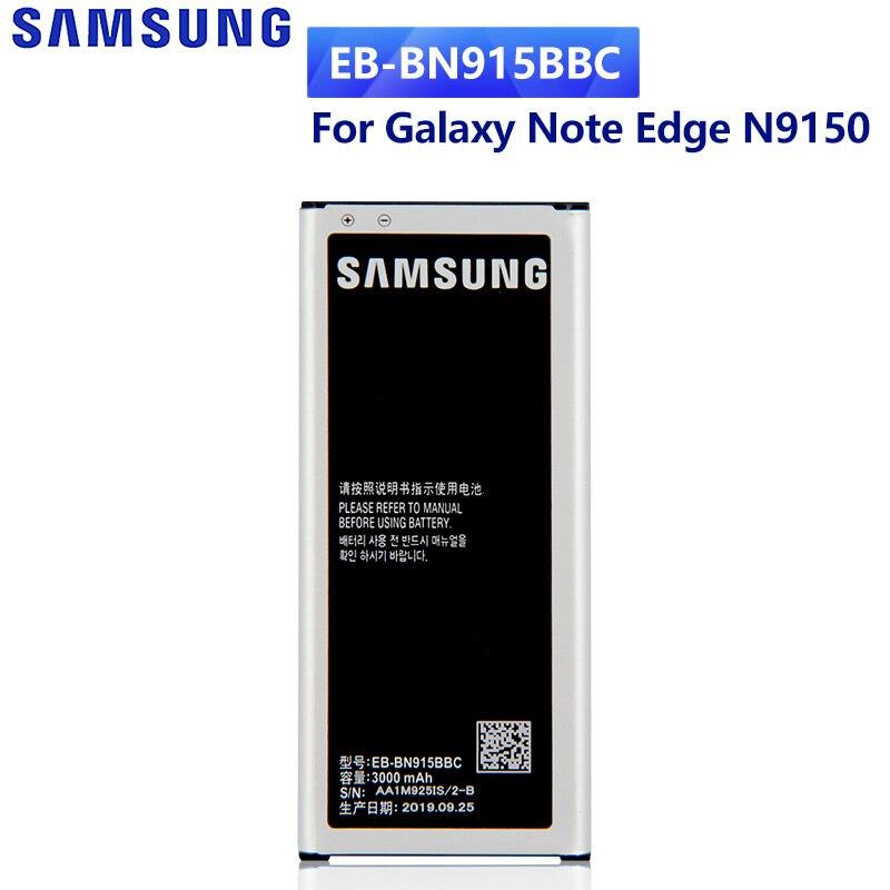 SAMSUNG оригинальный EB-BN915BBC батареи для Samsung GALAXY Note Edge N9150 N915K N915L N915D N915F N915S SM-N915G NFC EB-BN915BBE