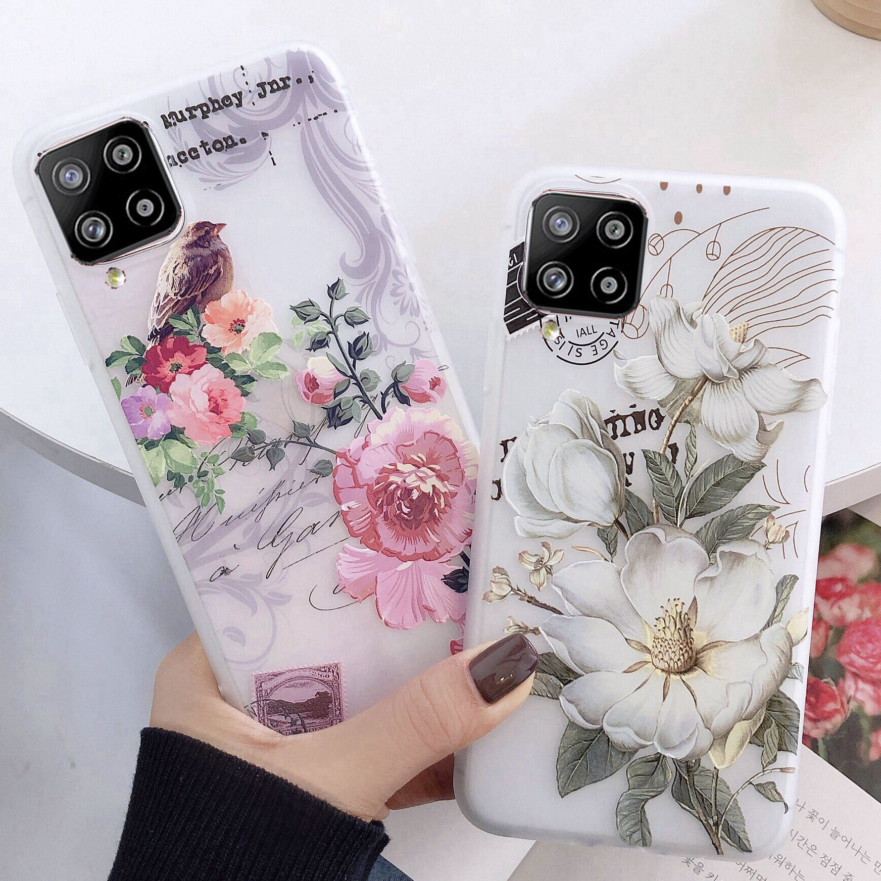 AliExpress - Luxury Girl Lady Phone Case for SAMSUNG Galaxy S21 PLUS Ultra S 21 Soft Case Full Cover for SAMSUNG A12 A42 M31S A 12 42 BACK