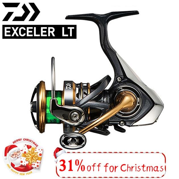 Original Daiwa Exceler LT Spinning Angeln reel 1000-6000 serie 5BB lager 5-12kg drag power angeln reel