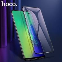 Hoco 3d 전체 강화 유리 삼성 갤럭시 s10 플러스 s10e 화면 보호기 삼성 note10 보호 유리 필름 note10 +