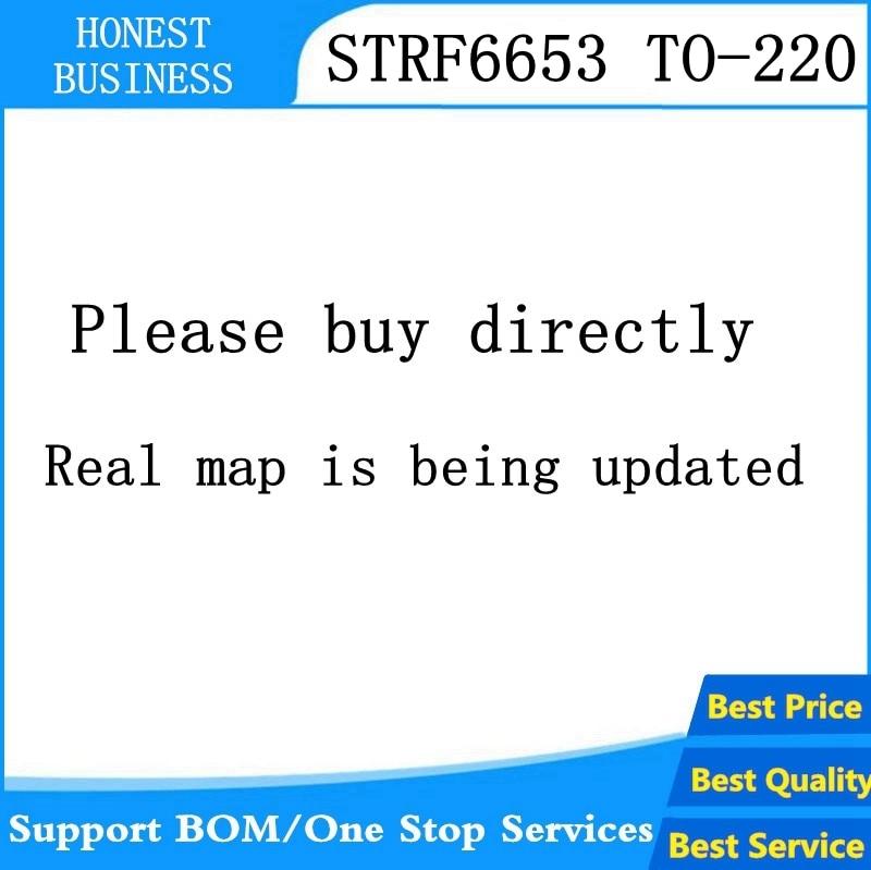 5 Pcs-20 Stks/partij STR-F6653 STRF6653 F6653 To-220 Op Voorraad Beste Kwaliteit