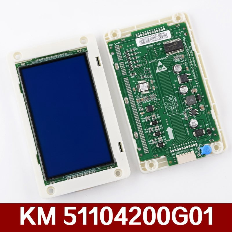 1pcs Elevator accessories LCD screen call board KM5110420H01 for KONE elevator parts  AQ1H386 недорого
