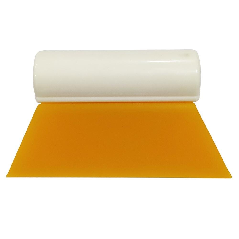 Тонировка для окон B28, мягкая резиновая тонировка для углов автомобиля, 10 см, желтый цвет