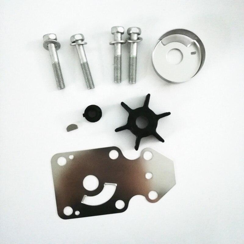 63V-W0078-00 Kit de reparación del impulsor de la bomba de agua para motores fuera de borda Yamaha F15 15hp de 4 tiempos