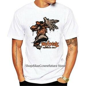 2021 Leisure Fashion Large T-shirt 100% Cotton LIMP BIZKIT Men Rap Rock Band Metal Shirt Fan Tee CHOCOLATE STARFISH