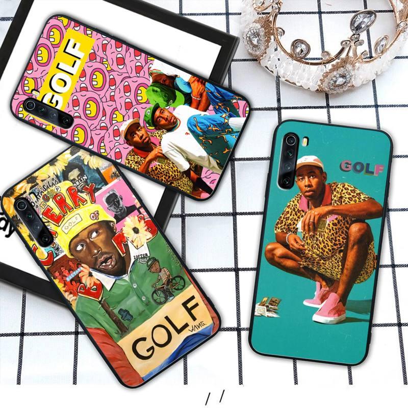 Tyler the creator RAP funda de teléfono móvil para xiaomi redmi note 4X 5 6 plus 6A 7 7A 8 8A 9 Nota 4 8 T 9 pro max coque