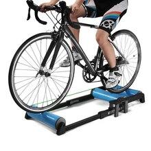 Teleskopowy rower trener stojak kryty Fitness stacjonarny wałek rowerowy trener MTB Mountain Bike droga rowerowa stacja ćwiczeń