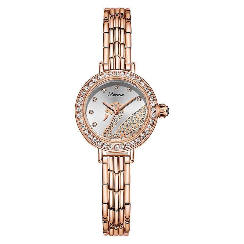 New 5pcs Set Women Watches Waterproof Woman Watch Casual Ladies Dress Wristwatch Earrings Necklace Female Quartz Clock Gift Box