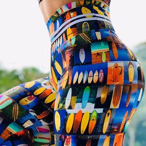 Women Leggings Slim High Waist Elasticity Leggings Fitness Printing leggins Breathable Woman Pants Leggings Push Up Strength New
