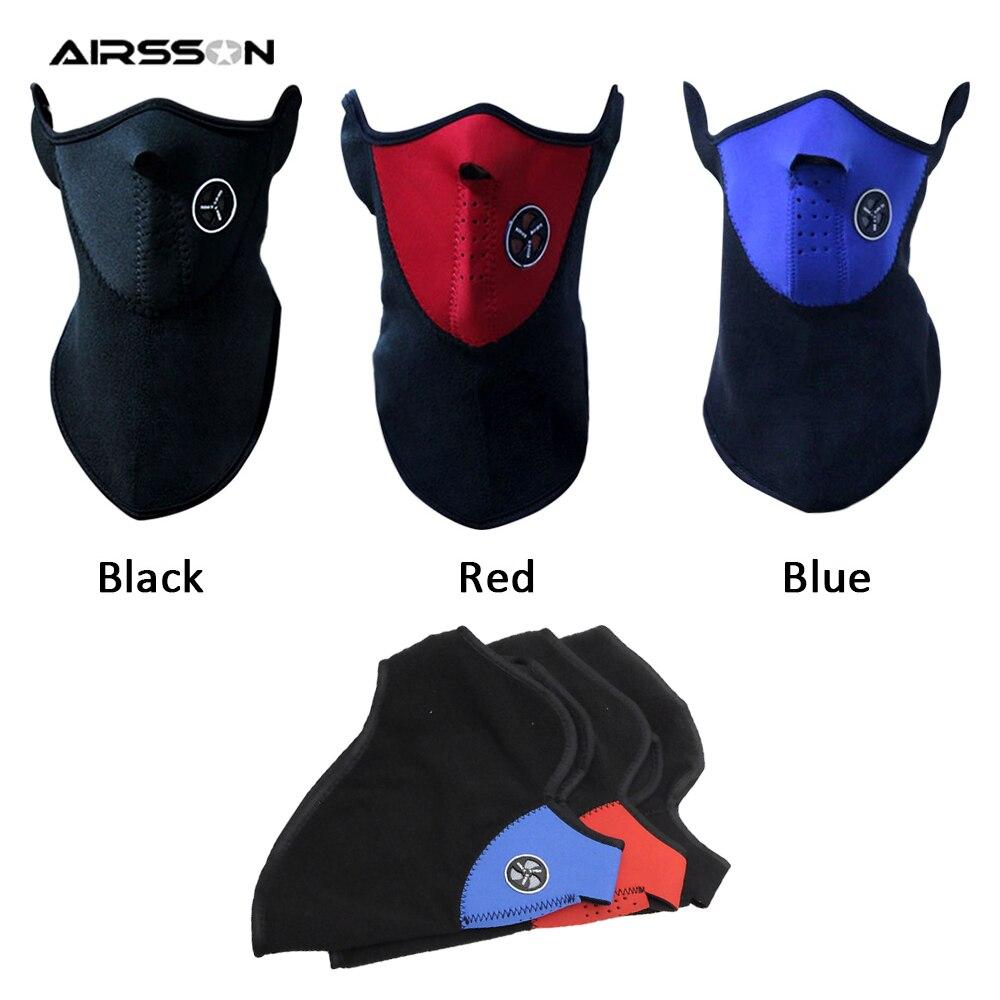 Masque de Protection pour le cyclisme Airsoft, demi-couverture faciale, polaire chaude, masque pour le Ski, Protection du cou, écharpe, chapeau, pour les Sports dhiver en plein air