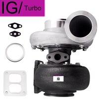 For GT45 GT45R Universal Turbo A/R .66 A/R 1.05 T4 T66 V-band Turbocharger 4 Bolt Flange 600+HP External Wastegate