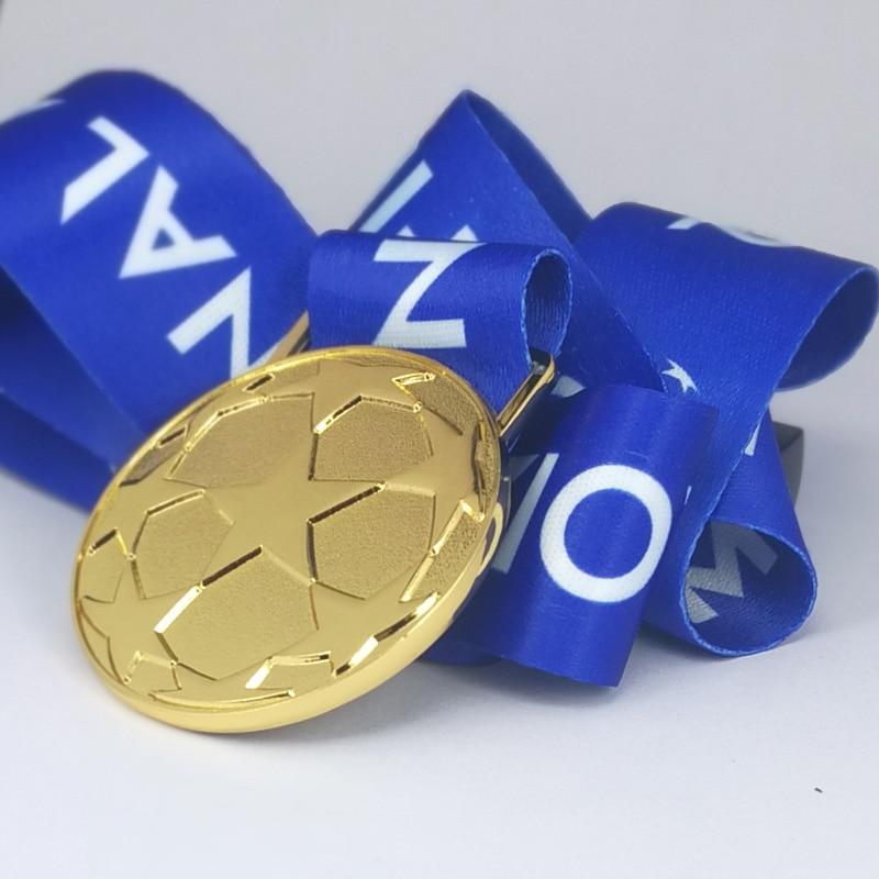 Медаль от 2000 до 2021 года на Европейский Кубок, Реплика медали премьер-лиги в подарочной коробке, ограниченный сувенир, хороший подарок