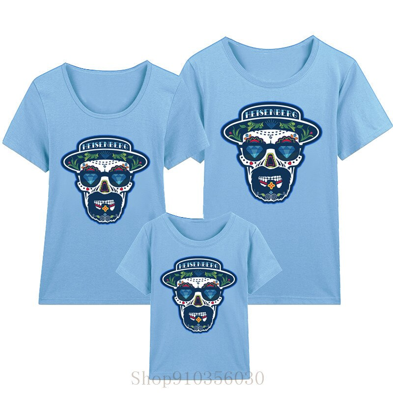 ¡! Sombrero de heisenberg breaking bad mom and son, ropa a juego para parejas, ropa para niños, ropa para niñas, vestido para niñas