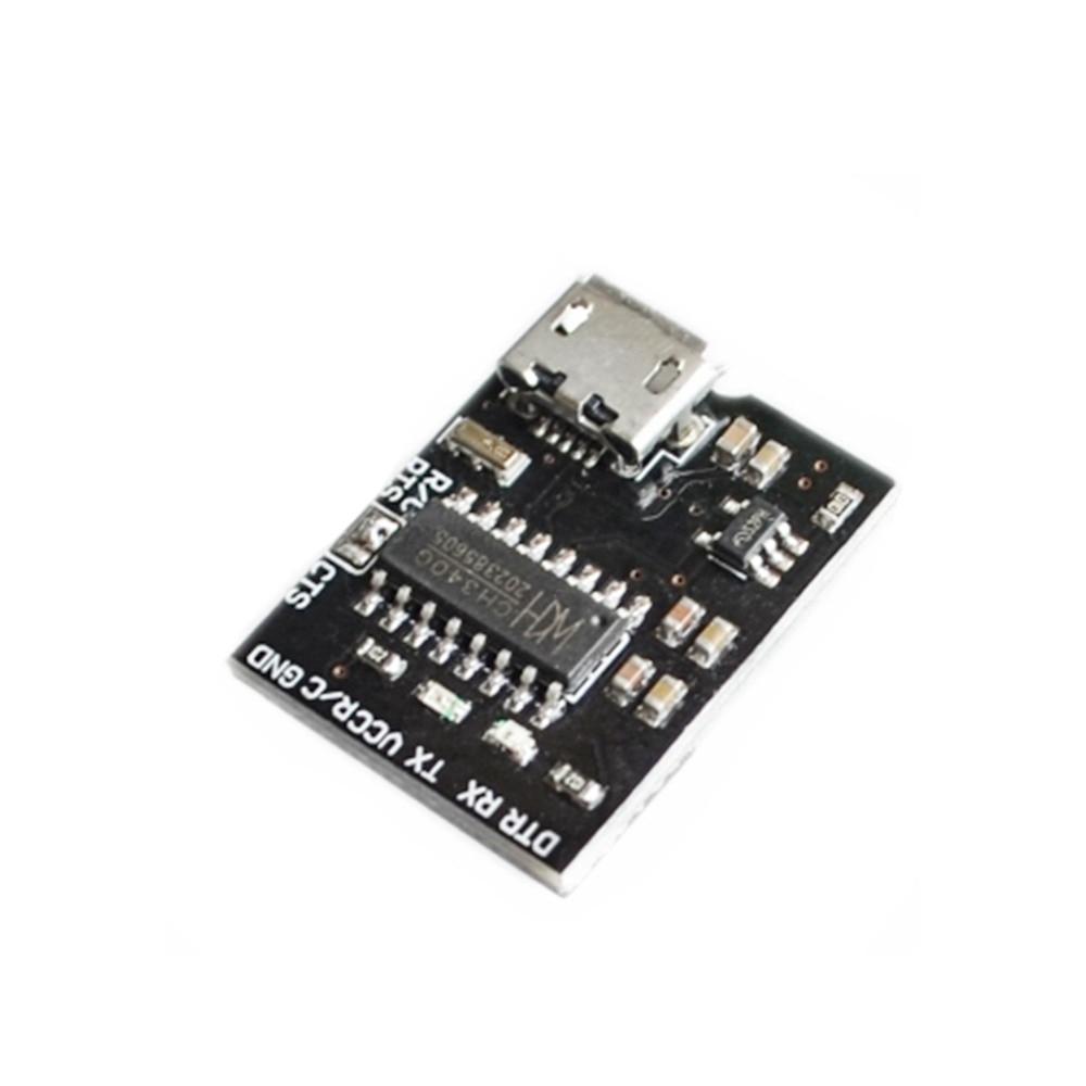 1 Uds. CH340G CH340 Breakout 5V 3,3 V Micro USB para módulo Serial de placa para Arduino Downloader Pro Mini