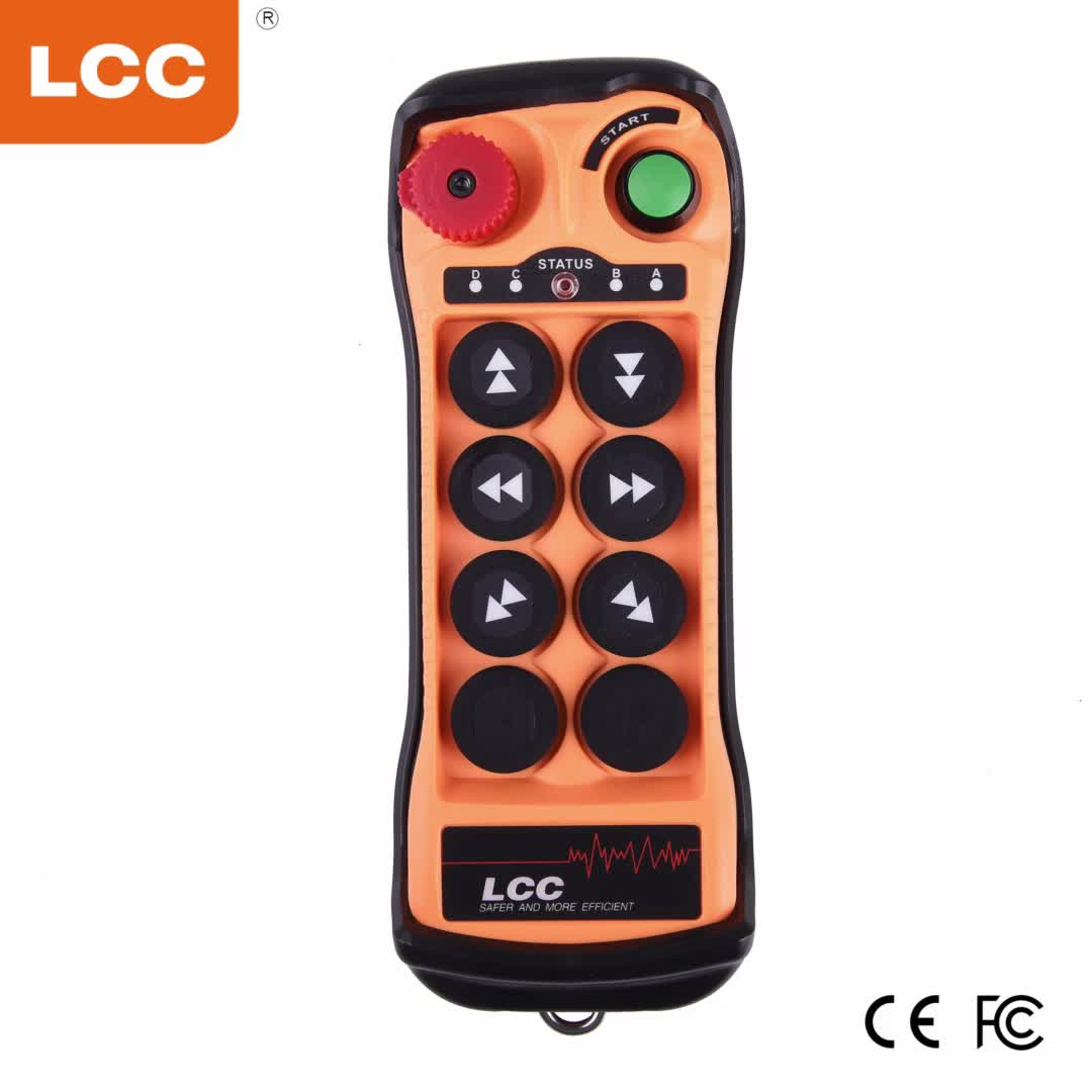 Q606 الصانع الصناعية اللاسلكية التحكم عن بعد ل أوناش برجية