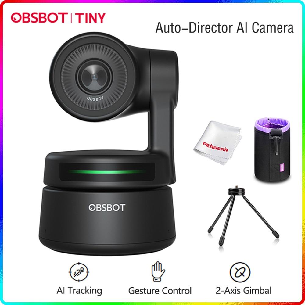 كاميرا ويب PTZ صغيرة تعمل بالطاقة AI 1080P إطار تلقائي عالي الدقة للدردشة بالفيديو عبر الإنترنت فئة بث مباشر عبر الإنترنت