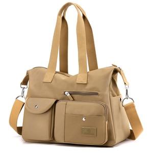 Fashion Nylon Cloth Big Shoulder Bag Women Casual Large Capacity Ladies Tote Handbag Female Crossbody Shoulder Bags for Girl Sac